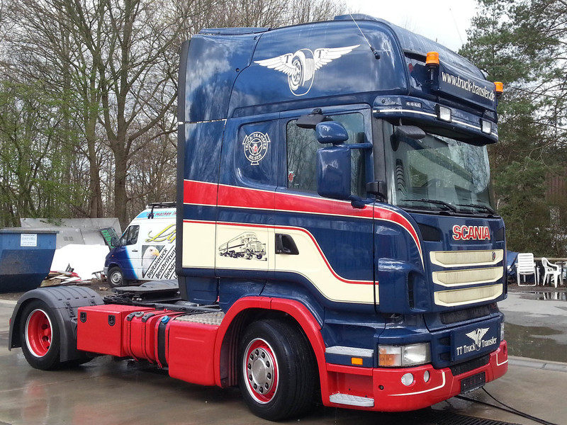Big truck transfer sieh scania 1